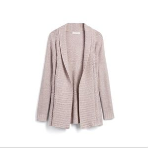 Honey Punch Rivington textured open cardigan
